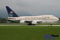 Saudi Arabian Royal Flight | HZ-AIF